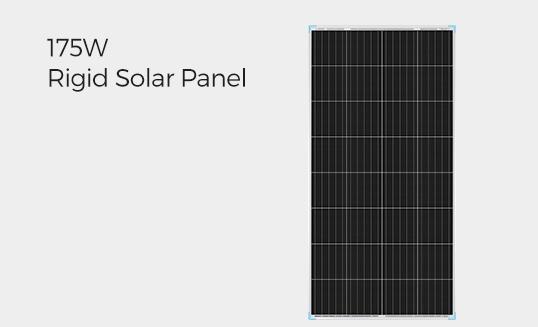 175W Rigid Solar Panel