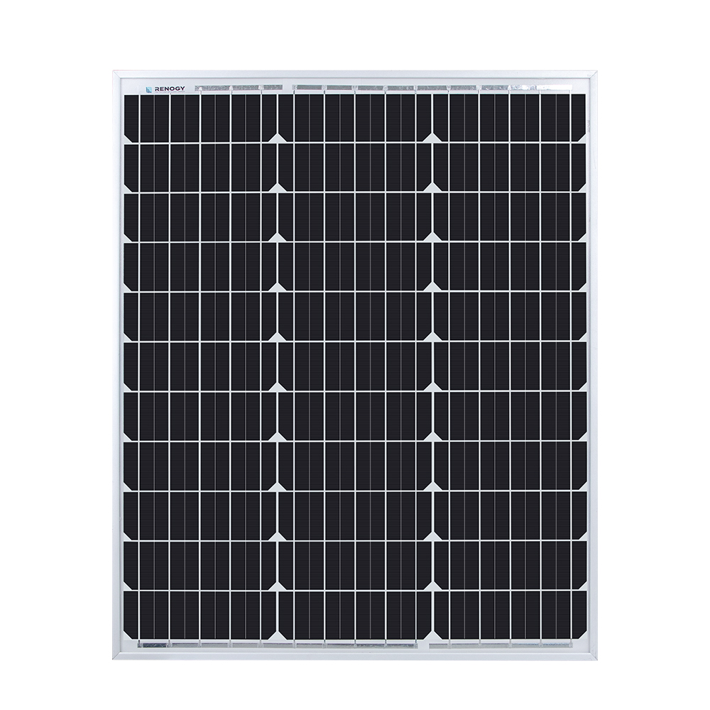 Renogy 50 Watt 12 Volt Monocrystalline Solar Panel (New Edition)